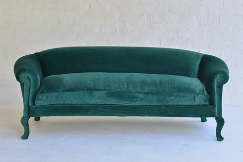 003 B Couch Emerald